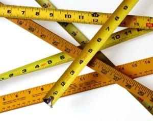 Measuring, making project estimates